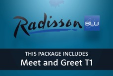 MAN Radisson Blu with meet and greet T1