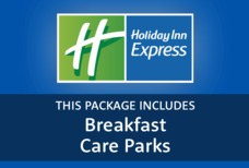 Holiday Inn express Man with car parks tile