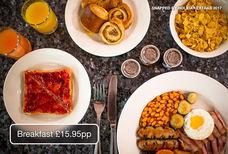 LGW Copthorne breakfast