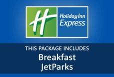 MAN Holiday Inn Express with breakfast and JetParks