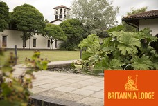 LGW Britannia Lodge with logo