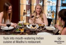 Heathrow Sheraton Skyline Indian restaurant
