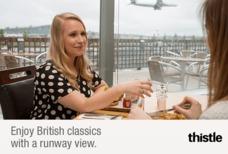 Heathrow Thistle restaurant