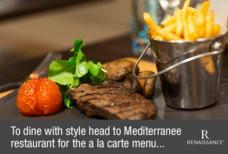 Heathrow renaissance dinner