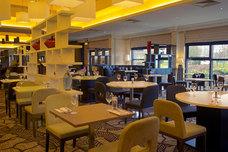 The restaurant at the Hilton Edinburgh Hotel