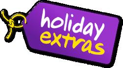The car park at the Hilton